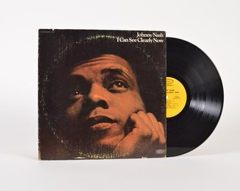 """JOHNNY NASH - """"I Can See Clearly Now"""" vinyl record"""
