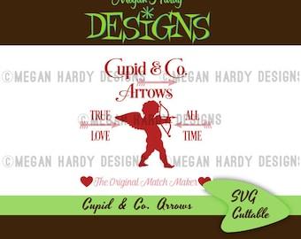 SVG Cupid & Co. Arrows Sign
