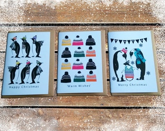 Christmas Card Pack: Pack of 6