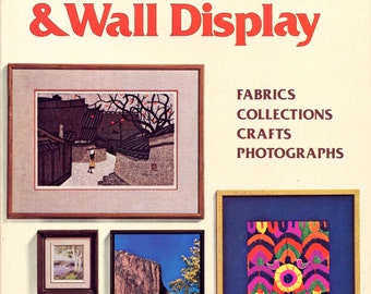 Picture Framing & Wall Display from Sunset | Craft Book