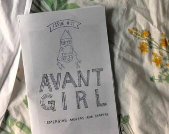 AVANT GIRL - printed zine