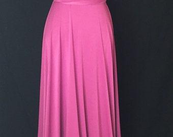 Sweet heart Wrap Convertible Infinity Dress Evening Dresses Magenta Bridesmaid Dress-B20#C20#