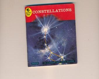 Rare dean quiz me book 1964  Pocket Manuals Book constellations