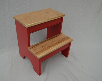 Step Stool -- Gumball Red Base with Cherry Steps -- Perfect for kids bathroom & Cherry step stool | Etsy islam-shia.org