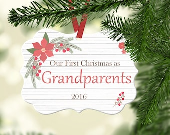 Grandparent ornament | Etsy