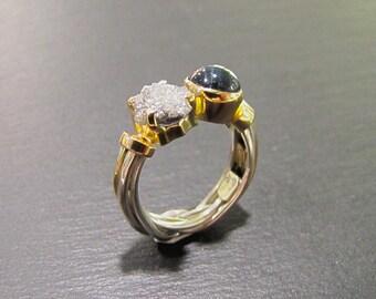 Ice & Sky ring