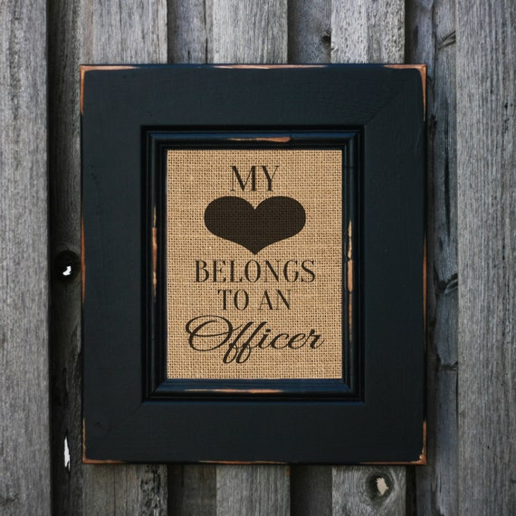 My Heart Belongs To An Officer Police Officer By