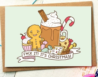 Funny Holiday Card - Funny Christmas Card - Funny Friend Card - Holiday Greeting Cards - Holiday Cards - Best Friend Card - Xmas Cards