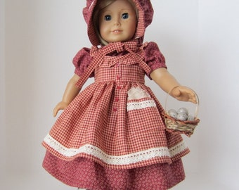 American Girl Doll: Red Prairie Girl
