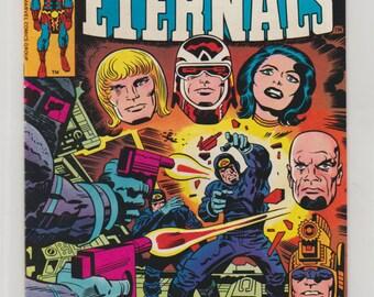 Eternals; Vol 1, 13, Bronze Age Comic Book. VF (8.0). July 1977.  Marvel Comics