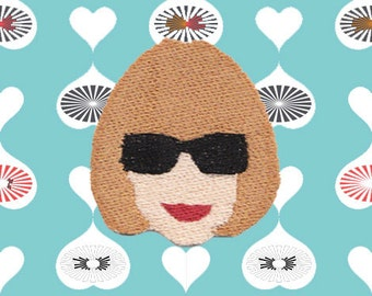 Anna Wintour Emoji Patch (Free Shipping to US)