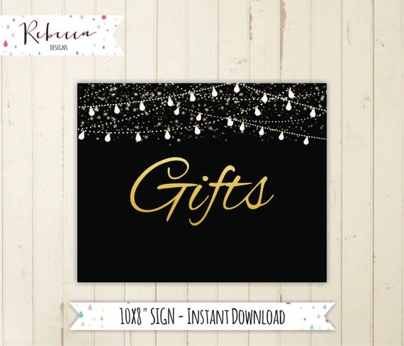 Gift Wedding Sign Wedding Sign Cards And Gifts Sign Gifts Birthday