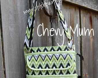 Quilted Mini Zip XL - Chevy Mum