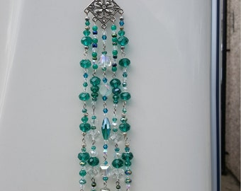 Natalia Sun-Catcher-Hanging-Crystal-Rainbow-Prism-Feng-Shui - Metaphysical & New Age