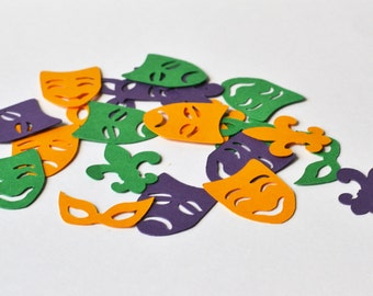Mardi Gras Confetti - Mardi Gras Party - Mardi Gras - Purple and Green Confetti - Confetti - Mardi Gras Decoration - Confetti