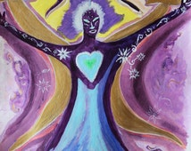 Angel Raphael - Poster & Healing teachings