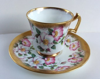 Royal Chelsea cup and saucer pattern # 5105 Wedgwood group England