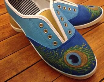 Handpainted Custom Shoes