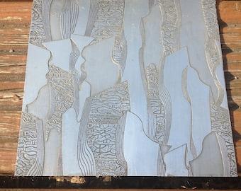 Decorative Zinc plate