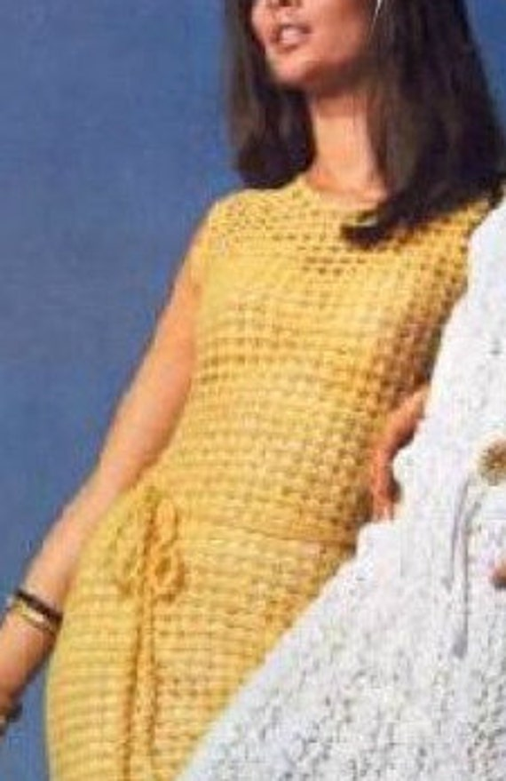 Summer dress easy pattern crochet