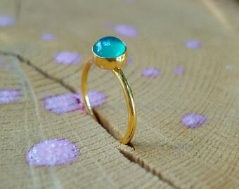 Green Onyx Ring Green Onyx Gold Ring Onyx Gold Stacking Green Onyx Rings Green Gemstone Ring Green Onyx Silver Ring Green Onyx Gemstone