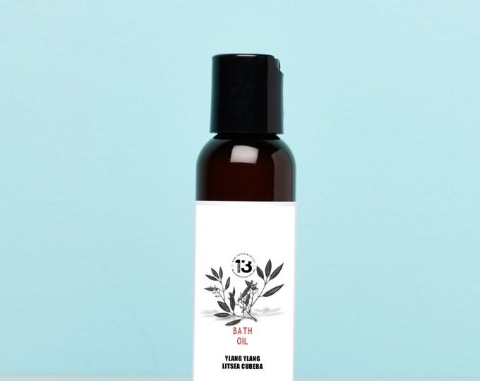 Ylang Ylang and Litsea Cubeba Bath Oil