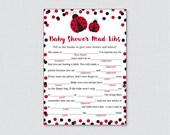 Ladybug Baby Shower Mad L...