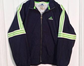 90s Adidas Windbreaker Jacket Large
