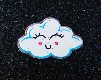 Happy Cloud Magnet