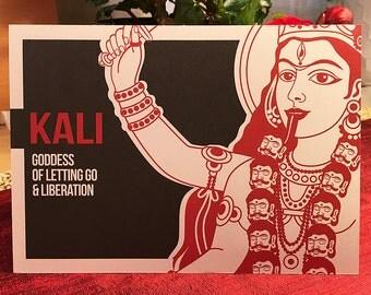 Kali Altar Card