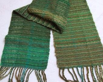 Hand woven wrap shawl winter shawl green shawl oversized shawl large wool shawl rustic handmade gift green wool wrap woman shawls