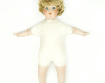 Vintage Grace C. Rockwell Bisque Doll Head Made In Germany German