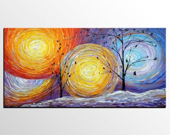 Abstract Painting, Abstract Art, Large Art, Oil Painting, Canvas Art, Large Wall Art, Canvas Painting, Landscape Painting, Large Canvas Art