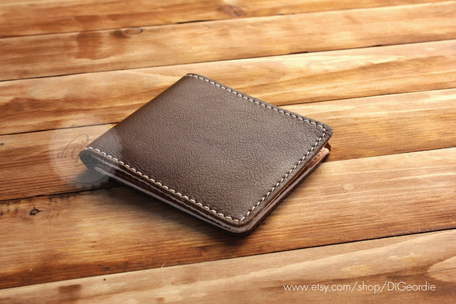 Mens leather wallets slim wallets coin pocket wallets by ...