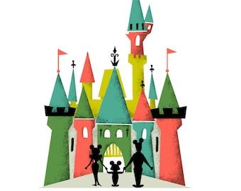 Disneyland Family Castle Digital Download