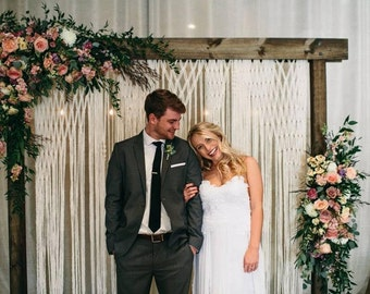 Bohemian Wedding Backdrop for Ceremony or Photography