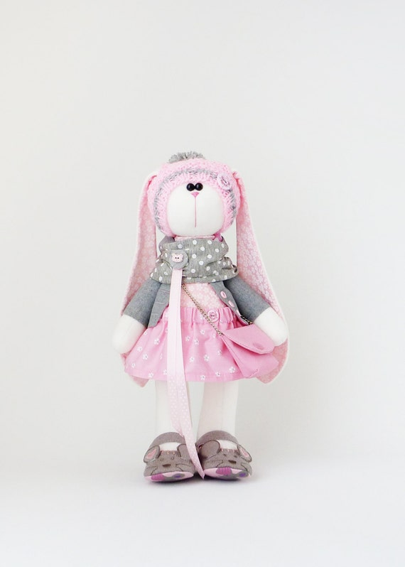 Big Easter Bunny Soft Toy 56