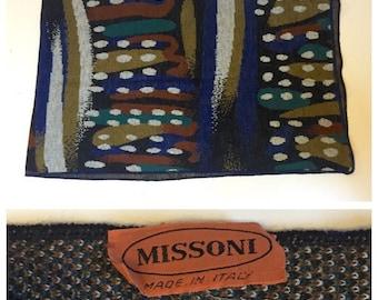 SALE -30% 80s Missoni Wool Blend Scarf