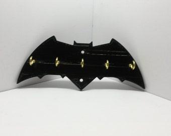 Batman Dawn of Justice Logo Key Holder Key Rack Jewelry Organizer Wall Key Rack Key Holder