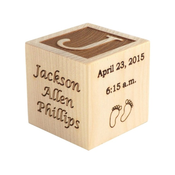 Personalized baby gifts personalized gifts for baby wooden like this item negle Gallery