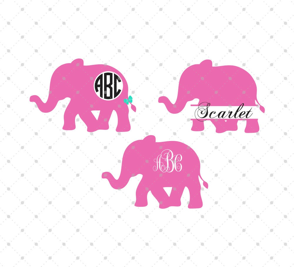 elephant svg cut files elephant svg cut files for
