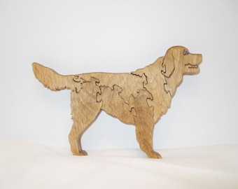 Wooden Dog Puzzle