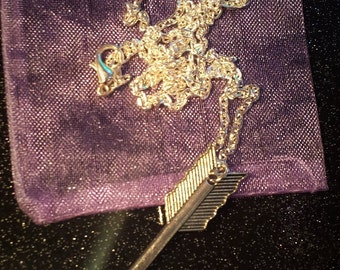 Silver Plated Arrow Pendant