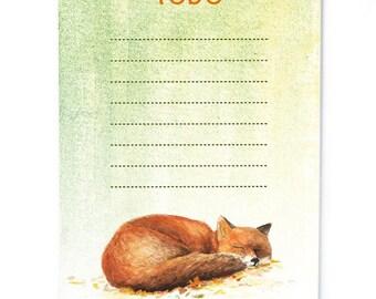Notepad Fox