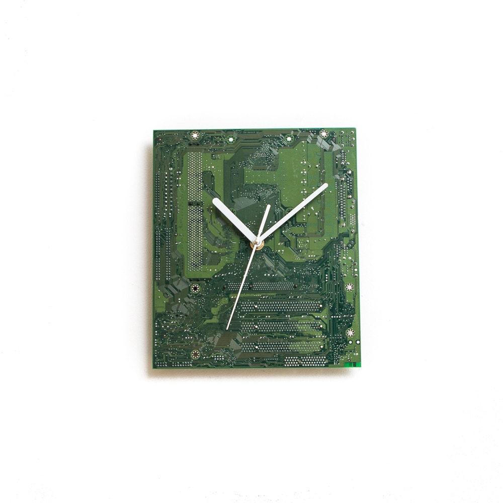 Integrated Circuit Board Wall Clock