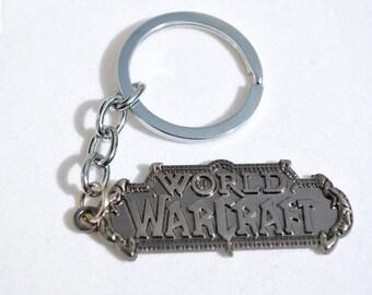 World Of Warcraft WOW Keychain Key Ring
