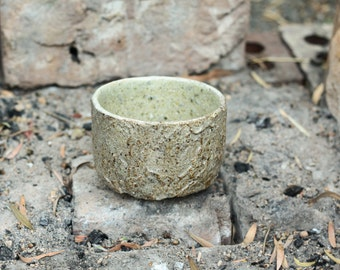 Handmade stoneware Matcha Chawan in blackwood ash - Tea bowl