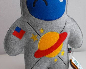 Monsterfelt Project-Astronaut Toy, Stuffed Toy, Stuffed Pillow, Space Soft Stuffed Toy Pillow, Soft Pillow
