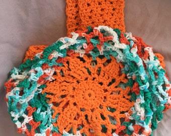 Market Bag, Beach bag, crochet bag, farmers market, stretchy bag, reusable bag, market tote, beach tote, tote bag, summer bag, crochet tote