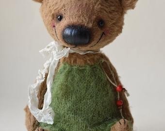 Viscose Artist Teddy Bear - Steve -OOAK - 18 cm